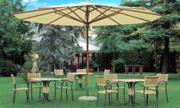 Деревянный зонт Де люкс